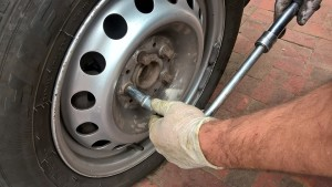 Flat Tire in Concord